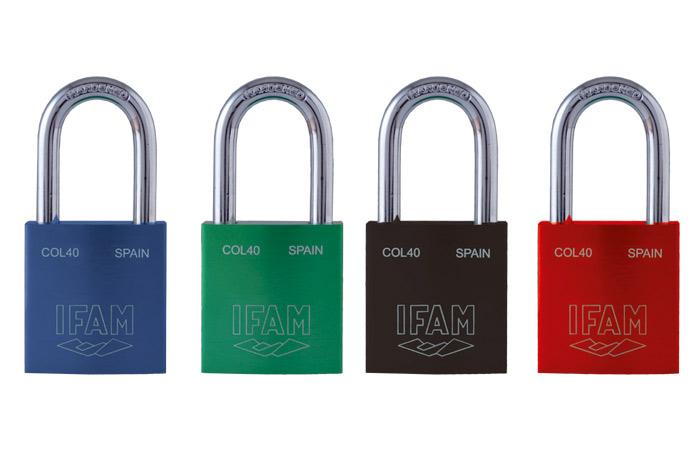 Col40 Safety Padlocks Ifam