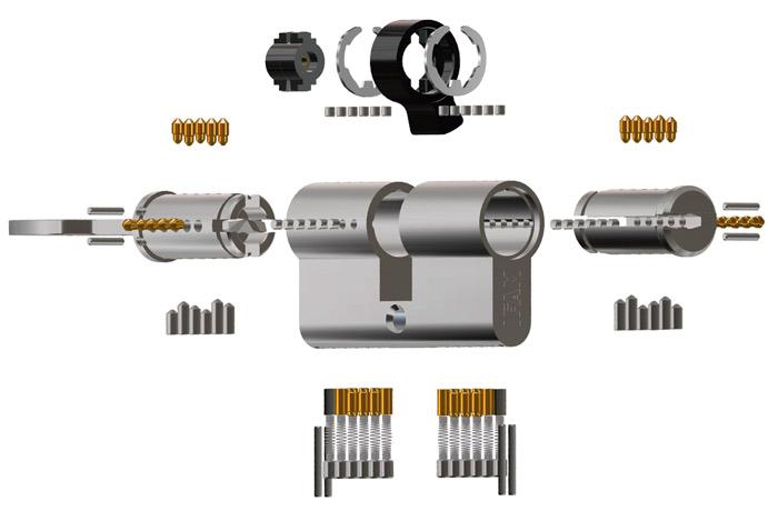 imagen de los componentes de los cilindros wx ifam