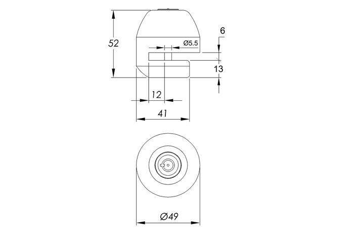 dimensiones-antirrobo-de-disco-custom-steel-50-ifam