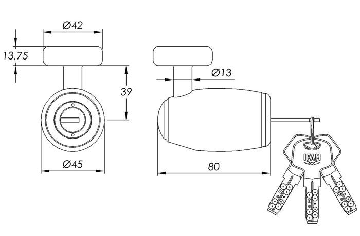 dimensiones-antirrobo-de-disco-traveller-mini-secure-ifam