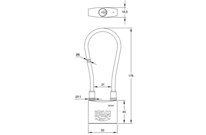 dimensiones-candado-cable-inox-ifam-2