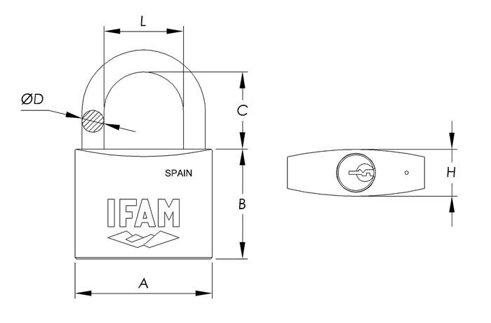 dimensiones-candado-serie-inox-ifam