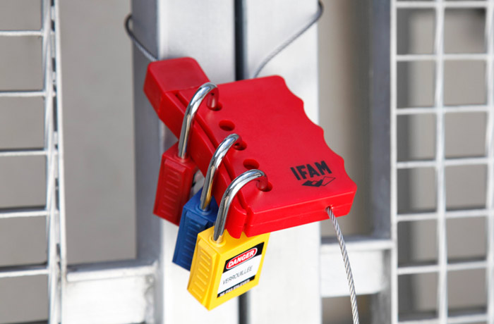 Multi Lock Cable Safety Hasp Ifam