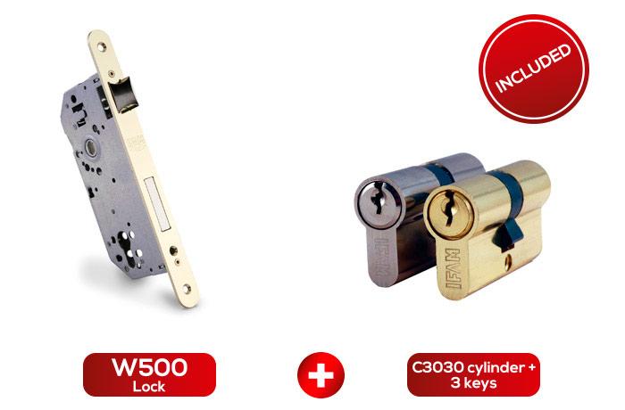 W500 Mortise Lock Ifam