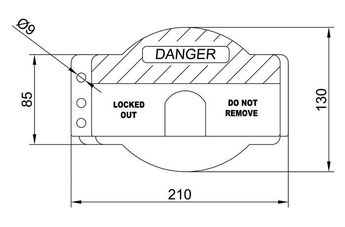 bloqueo-para-valvulas-circulares-ifam-dimensiones