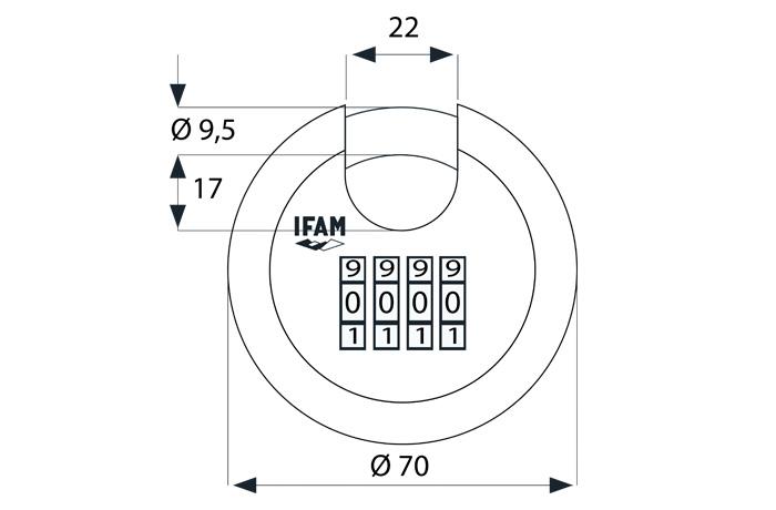 candado-circular-combi-ifam-plano