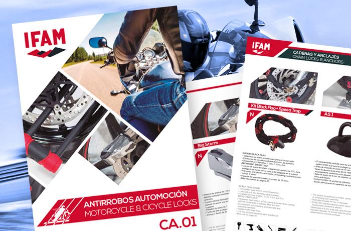 catálago antirrobos moto IFAM