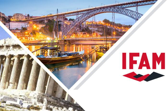 ifam en ferias en portugal y grecia
