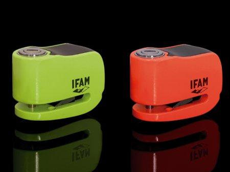 IFAM 053083C Antirrobo para freno de disco de moto Cromo 100 mm