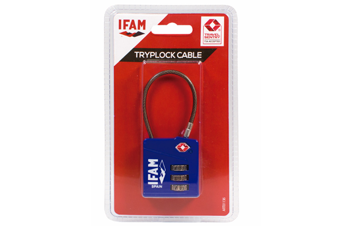candado-tryplock-cable-ifam-blister